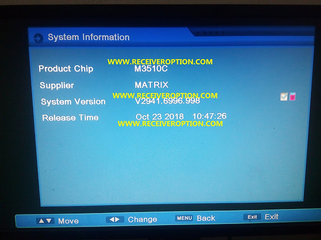 M3510C AUTO ROLL POWERVU KEY NEW SOFTWARE