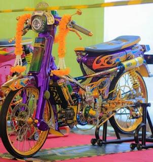 Yamaha 75 Modifikasi