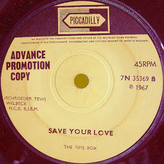 The UK promotional single. Piccadilly 7N 35369.
