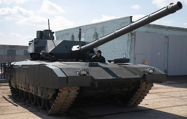Russia offers latest T-14 'Armata' tank to foreign partners