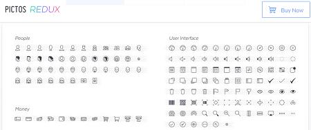 Daftar Situs Penyedia Font Icon Gratis - Pictos Font