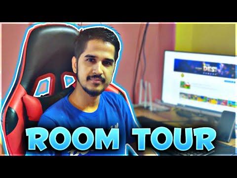 Amit Bhai Free Fire Room Tour