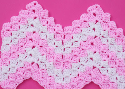 1 -Crochet Imagen Puntada zig zag a crochet en relieve Majovel Crochet