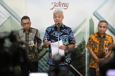 Darurat Corona Ganjar Pranowo Batalkan Kunjungan ke Lampung