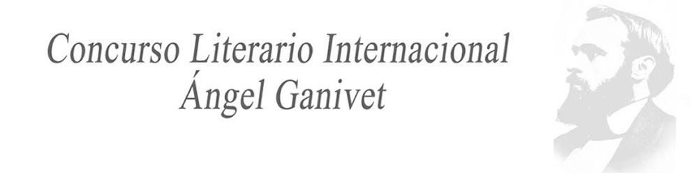 Concurso Literario Internacional Ángel Ganivet