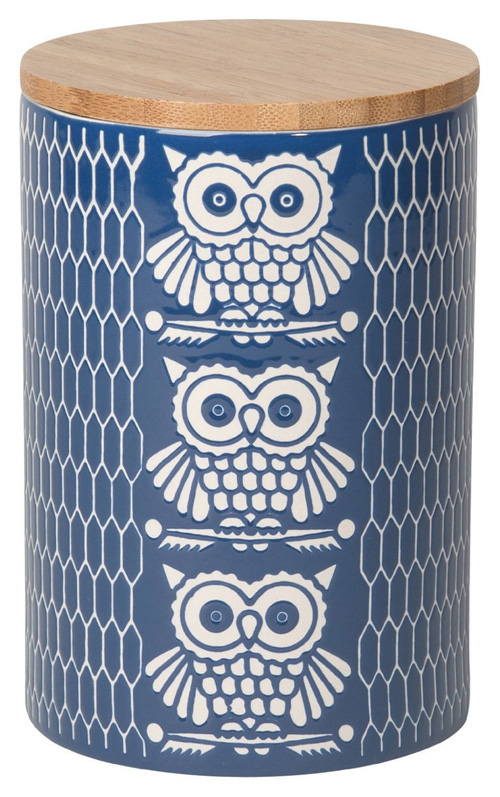 My Owl Barn Ceramic Canisters By Now Designs