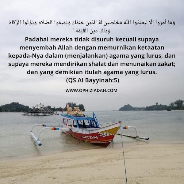 Ihsanul Amal dan Hukum Syara'