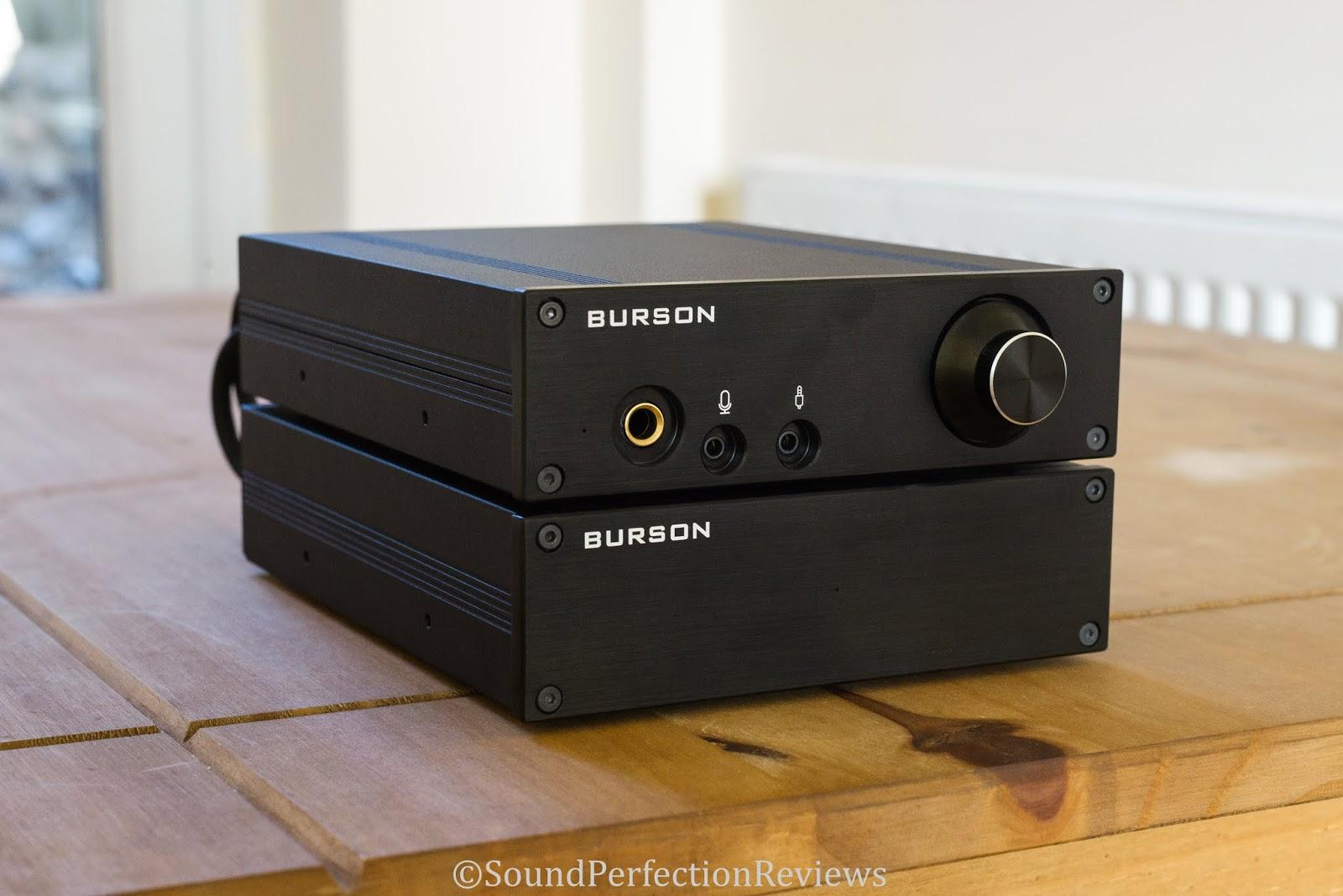 Review Burson Fun And Bang Headphone Amp Pre Class Ab A Amplifier Speaker Power