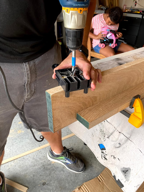 Using a JointMate Dowel Jig Tool to Make Shelves
