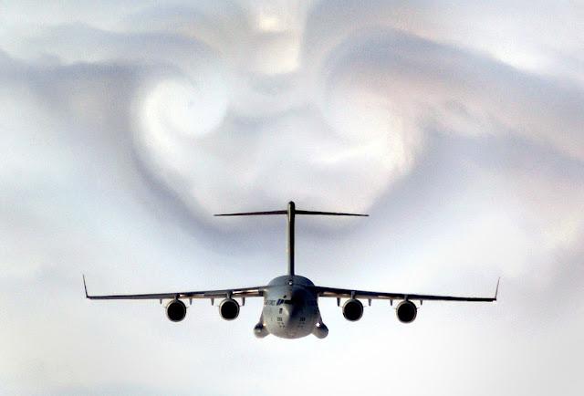 C17 wake turbulence