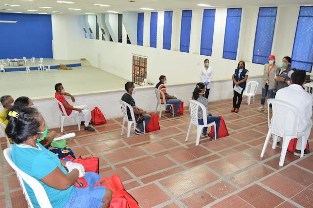 Mercy Corps, USAID y Alcaldía de Riohacha dan ayudas económicas a migrantes venezolanos y colombianos retornados