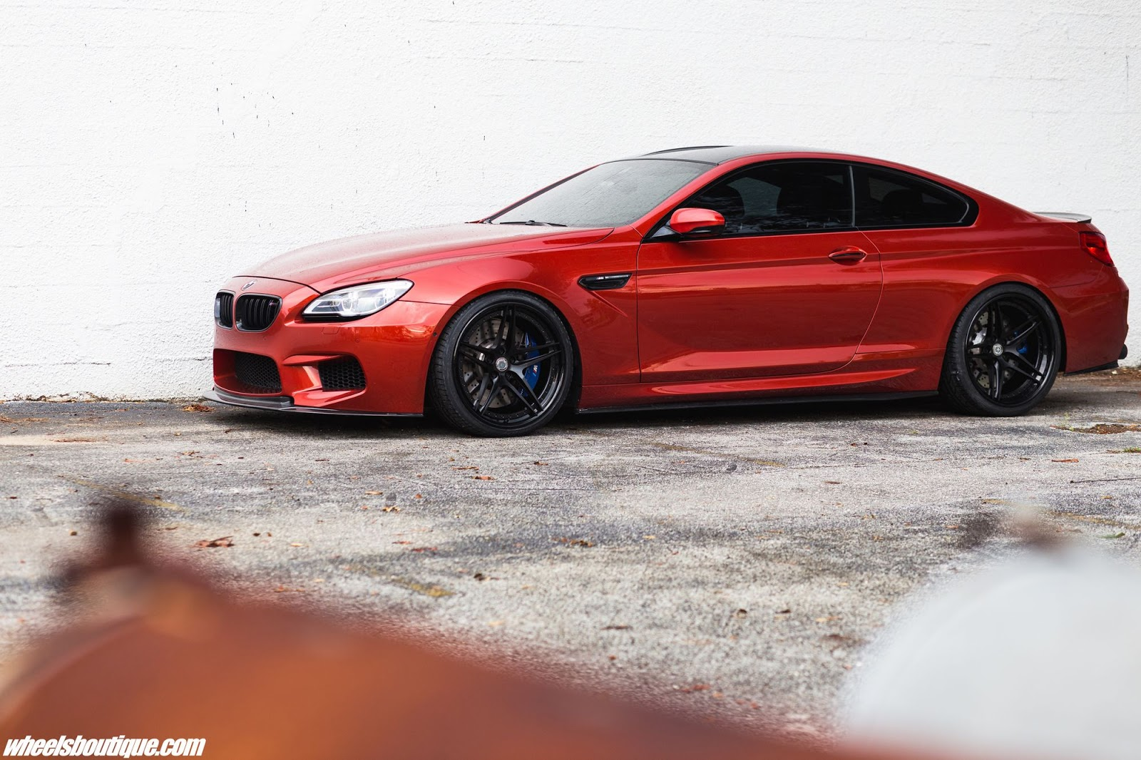 Sakhir Orange Bmw M6 Looks Monstrous With Black Wheels