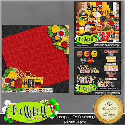 Passport to Germany from Kellybell Designs