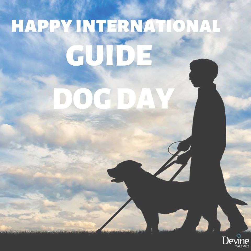 International Guide Dog Day Wishes Unique Image