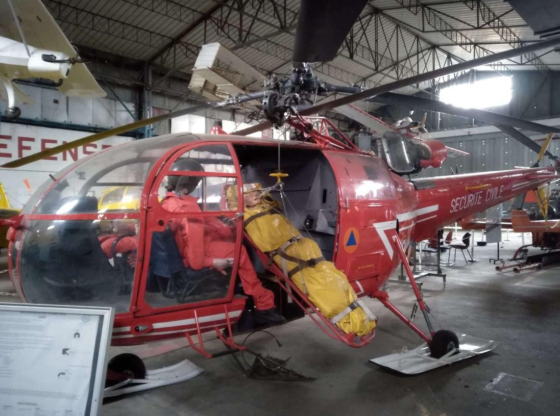 hélicoptère musée aviation corbas lyon