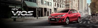 Info Lengkap Spesifikasi dan Harga Toyota Vios Terbaru