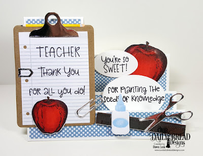 Seeds of Knowledge, Notebook Paper, Old Glory  ODBD Custom Dies: Clipboard Set, Teacher's Apples, Sidestep, Ovals