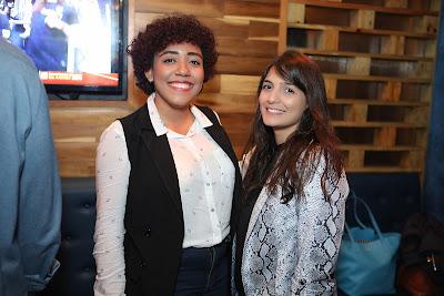 Laura Rodríguez y Priscilla Mieses.