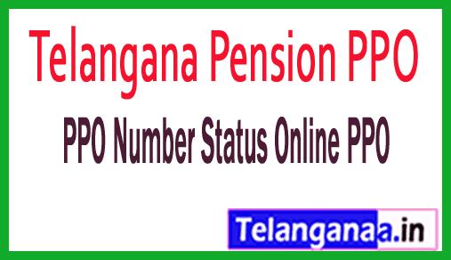 Telangana Pension PPO Number Status Online PPO