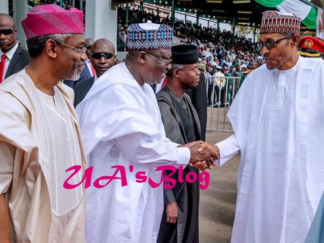 Details Of Buhari's Meeting With Lawan, Gbajabiamila, Others