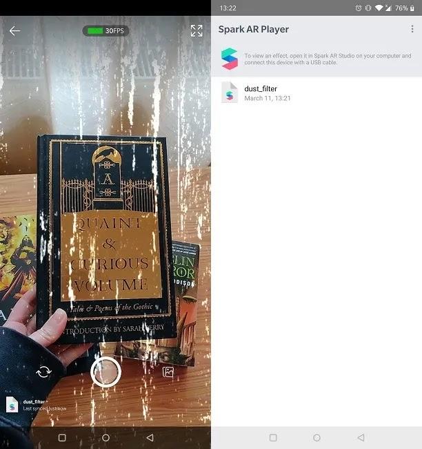 كيفية عمل برنامج Spark Ar Player لتصفية Instagram