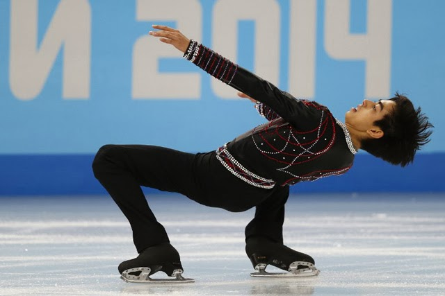 Michael Christian Martinez, Winter Olympics, figure skaters, Sochi, figure skating