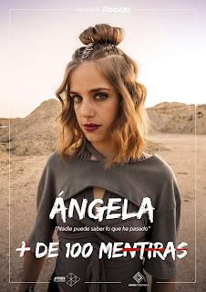 Ángela en la serie juvenil '+ De 100 Mentiras'