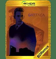 GATTACA: EXPERIMENTO GENÉTICO (1997) BDREMUX 2160P HDR MKV ESPAÑOL LATINO