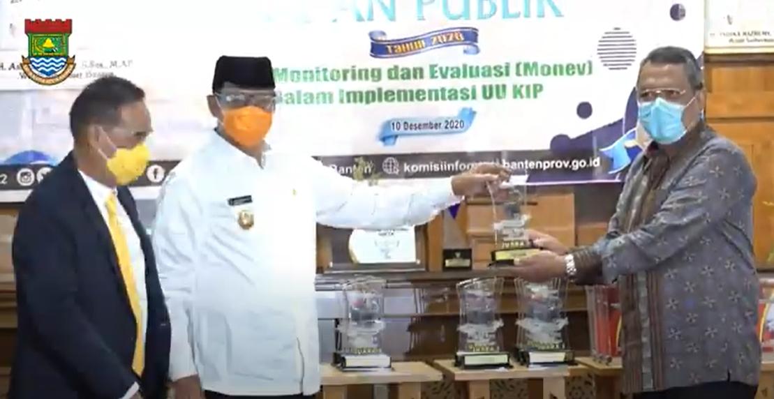 Pemkab Tangerang Raih Penghargaan Badan Publik Informatif di Provinsi Banten