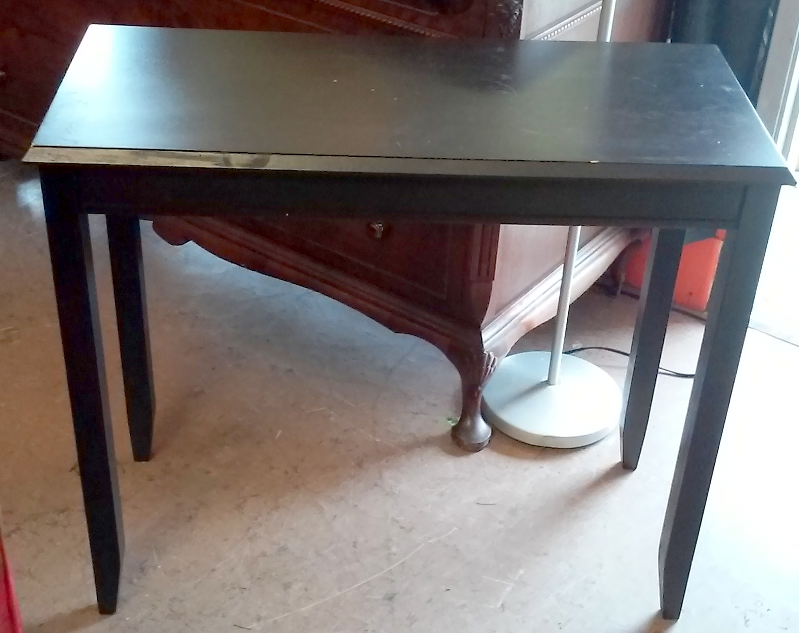 Uhuru furniture collectibles sold 34 wooden ikea idbyn - Table console extensible solde ...