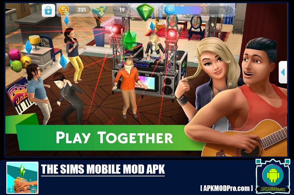 Download The Sims Mobile MOD APK 17.0.2.78246 (Unlimited Money, Cash/Simoleons)