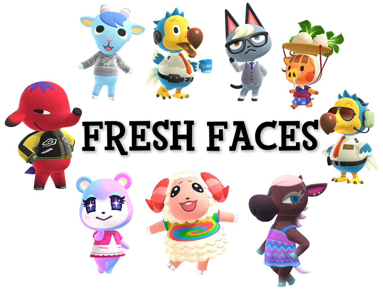 cute villagers animal crossing new horizons names