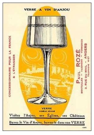 verre a vin d'anjou