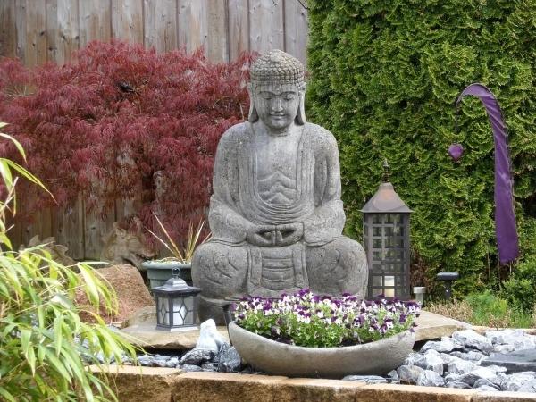 giardino zen-Buddha-arredo
