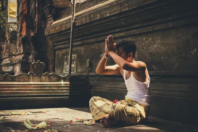 Saudação Namastê
