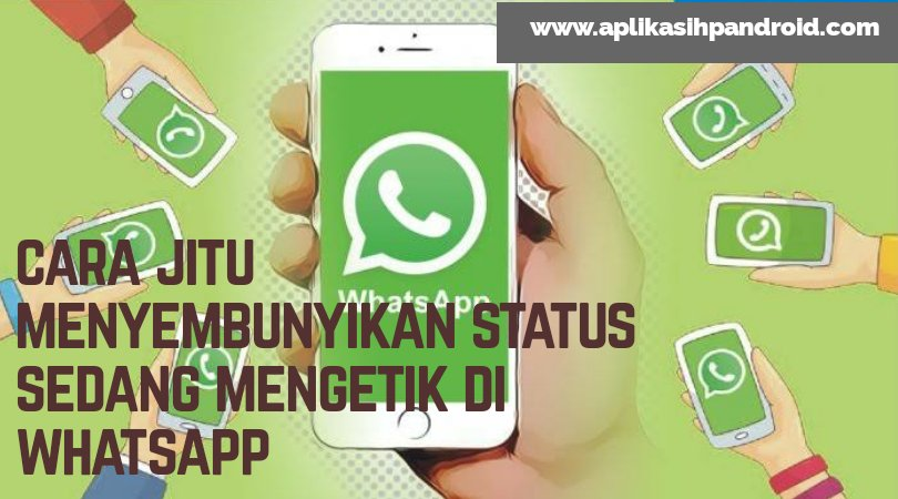 5 cara jitu menyembunyikan status sedang mengetik pada whatsapp