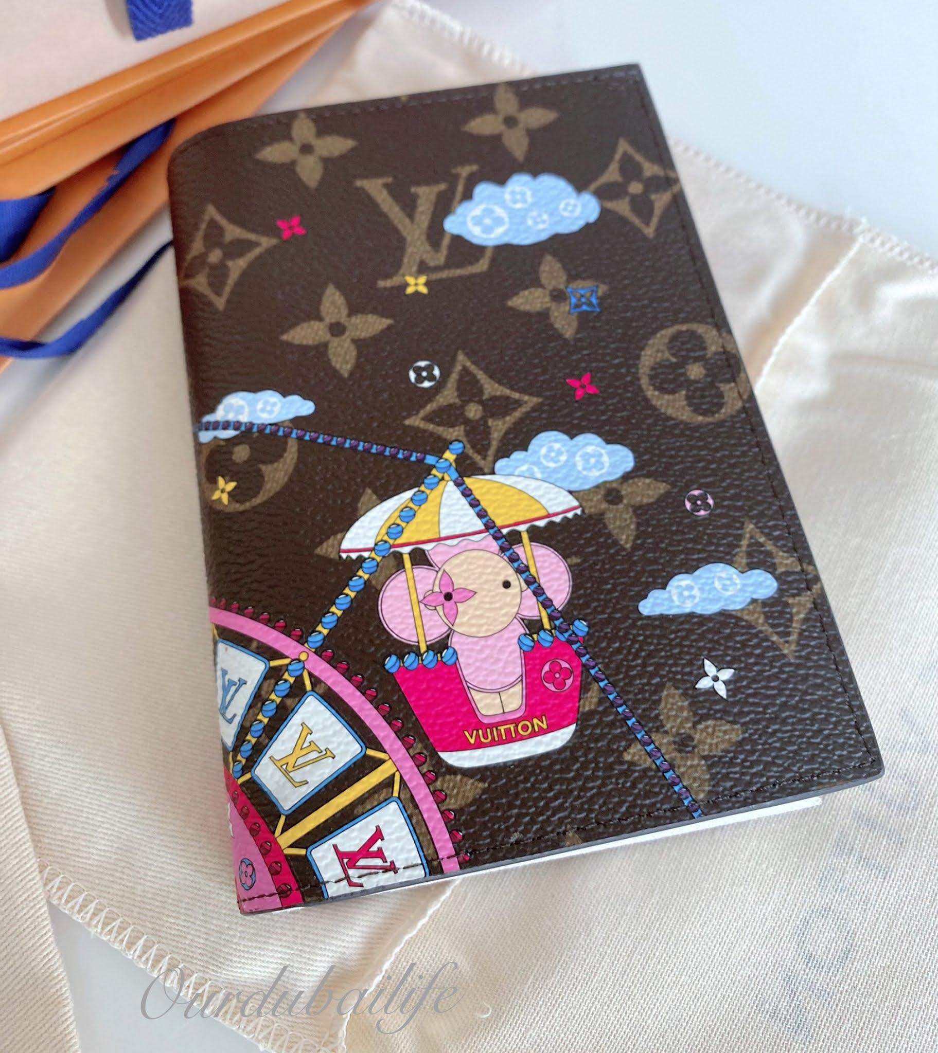 Louis Vuitton Christmas 2020 Reveal Vivienne Ferris Wheel Passport cover