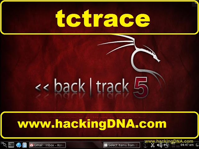 tctrace on backtrack 5