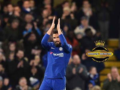 Giroud Berseragam Chelsea Di Musim Dingin, Januari 2018