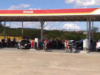 Colapso a vista em Picuí: Postos começam a faltar combustível