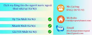 đăng tin cho người nước ngoài thuê nhà