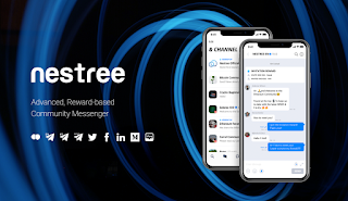 NESTREE - Advanced, Reward-based Community Messenger