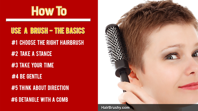 Basic Steps On How To Use A Hairbrush