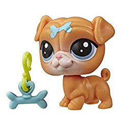 LPS Series 5 Lucky Pets Fortune Cookie Greer (#No#) Pet