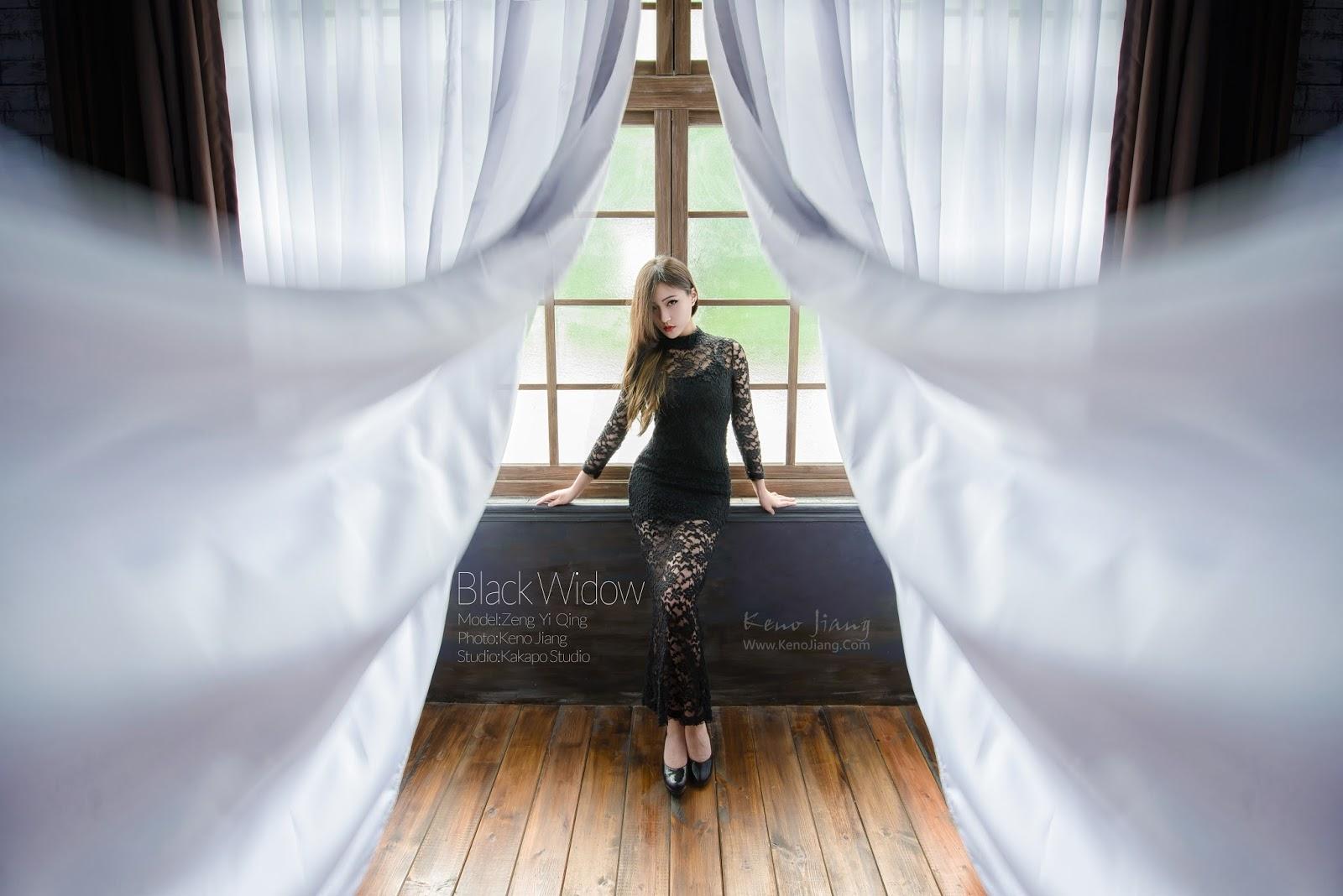 [寫真攝影] | 性感寫真 | 攝影棚拍 | 影像創作 | Black Widow @曾意晴