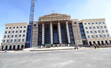 فيديو : مقر رئاسه الوزراء في مدينه العالمين الجديده