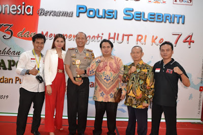 Polisi Selebriti Dedikasikan AWPI Award Untuk Kapolres Sahabat Media