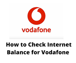 How to Check Internet Balance for Vodafone