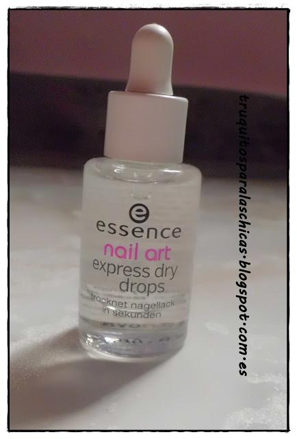 Nail art expres dry drops