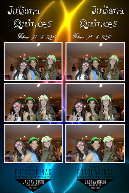 Alquiler photobooths para quince años